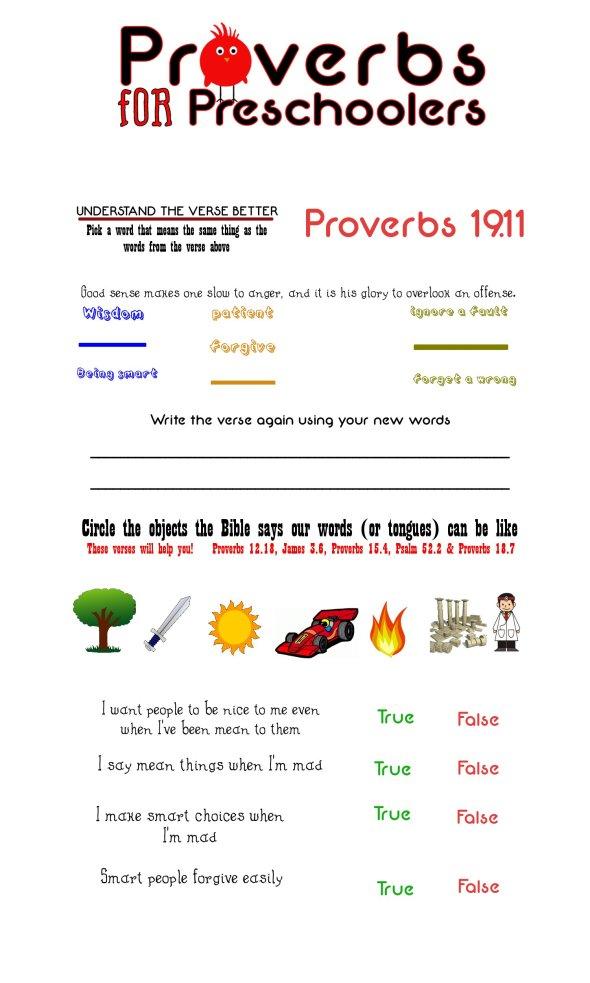 Proverbs 19 verse 11
